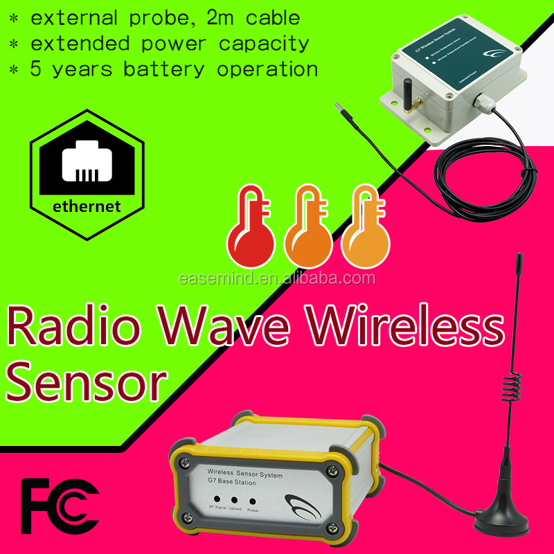 Wireless base station long range g7 transmitter environmental control unit