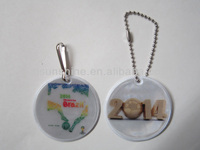Brazil World Cup Promotion Reflective Keychain