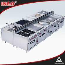 Gas Electric Pizza Salad Bar Seafood Restaurant Equipment | All Types Of Stainless Steel Kitchen Equipment