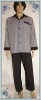 long sleeves men's woven pajama sets