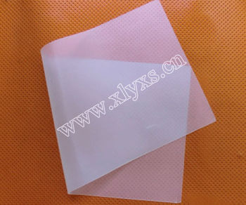 0.7mm Transparent Smooth Surface Rubber Silicone Sheet