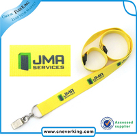 CHINA TOP10 SUPPLIER Custom Design hard plastic id card holder lanyard