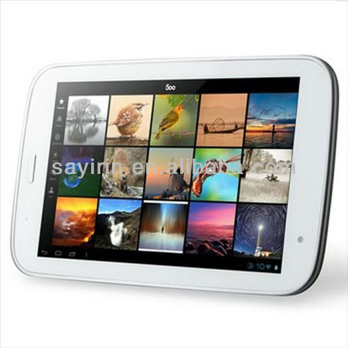 7inch Dual Core tablet with sim cards slot gsm