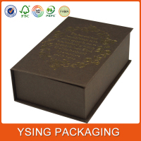 China custom made luxury paper chocolate Retail packaging