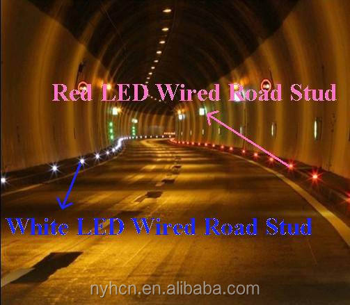 Excellent Safety Durable Tunnel  Aluminum Wired Road Stud