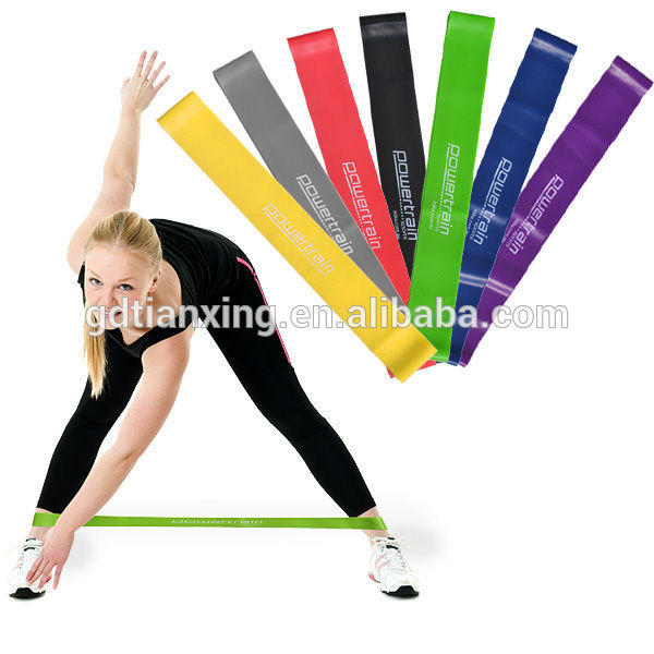 Custom Fitness Fashion Resistance Loop Band Thera-bands