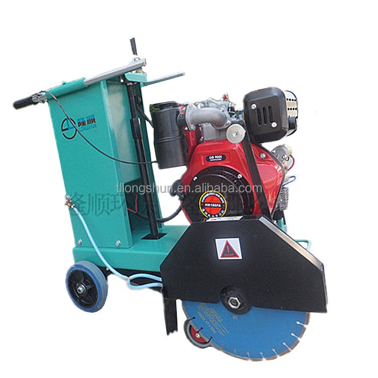 Professional diesel concrete road cutter with well porformance( HQS400B)