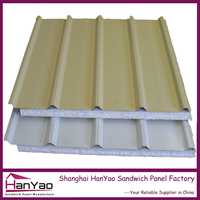 Shanghai Hanyao High Quality Insulated Metal EPS Sandwich Panel for Roof