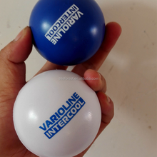 Cheap Custom Round PU Foam Anti Stress Ball For Promotion