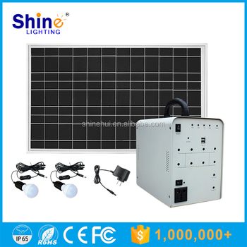 50W Mobile Charger Portable Solar Power System Price