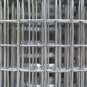 Cheap 1x1 galvanized welded wire mesh for pets bird quail rabbit cage
