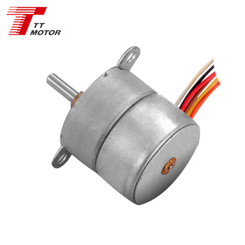 7.5 degree step angle DC 12V stepper motor for IP Camera