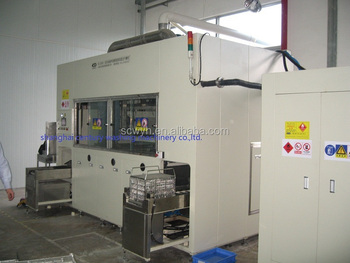 Automatic Ultrasonic Hydrocarbon Vacuum Cleaning Drying Machine