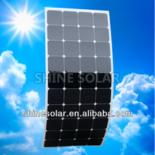 135W high efficiency flexible solar panel use on snow mobile