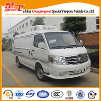 2 ton mini freezer box truck,Foton View refrigerator van