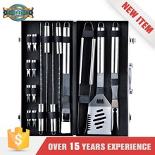 Barbeque Accessories Stainless steel Grilling Sets Metal bbq tool set