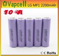 Low price LG 18650 MF1 2200mAh 3.7V Lithium Ion battery cell