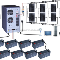 5kw Solar Power System Home 5000w