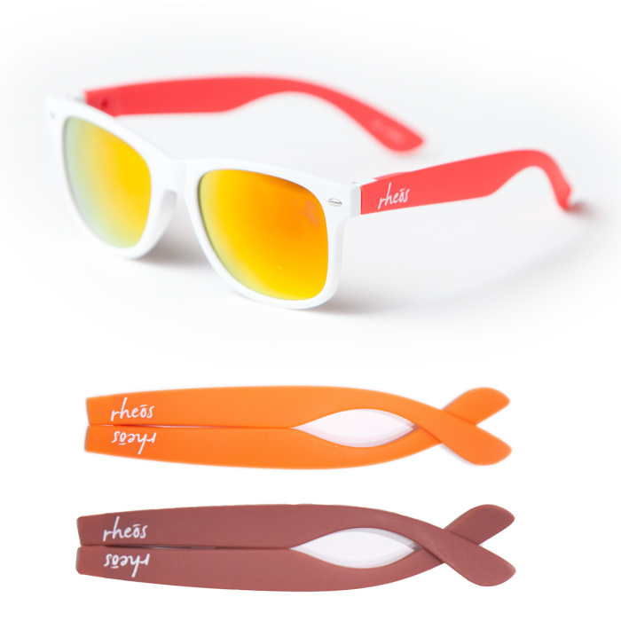 Fashion Sunglasses with Interchangeable Arms/Temple