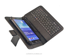 Hitech USB Leather Tablet Keyboard Case For 7 8 9 10 inch android tablet