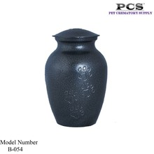 MKY Brass Paw Print Urns for Cremation