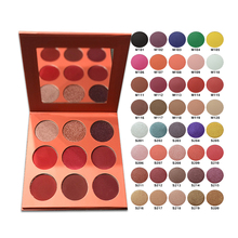 Panni Private Label Makeup Cosmetics 9 Color Eyeshadow Palette Choose Colors Freely