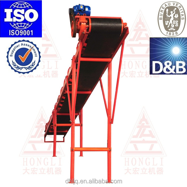 Portable concrete conveyors belt
