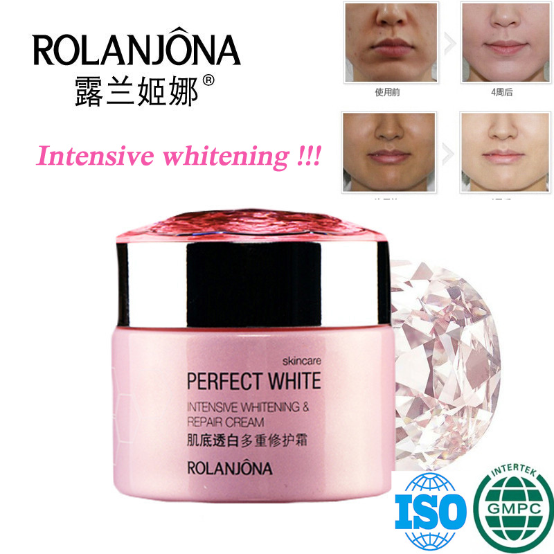 rolanjona Best skin whitening beauty miracle face cream for women black skin