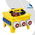 SAIP/SAIPWELL Power Mobile Socket Box with IP67 Industrial Plug and Socket