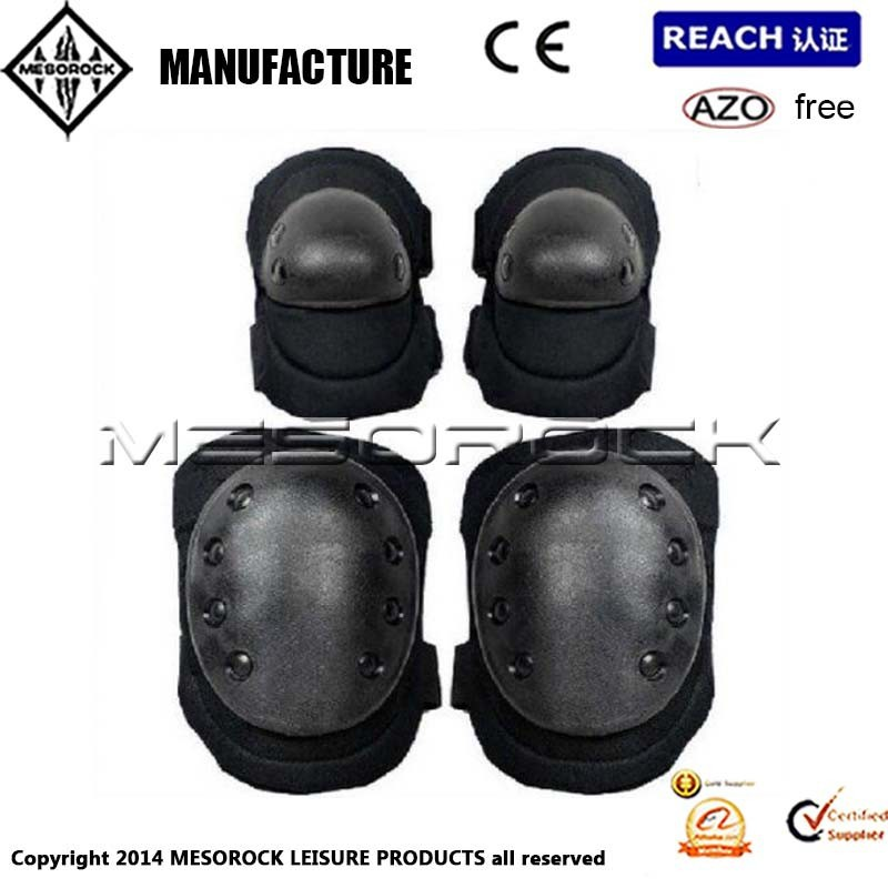 Military Knee and Elbow Protector Knee Elbow Wrist Blade Guard Protector Pad