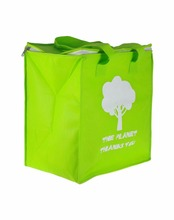 Mini jute plastic canvas non woven oxford thermal cool carry cooler bag