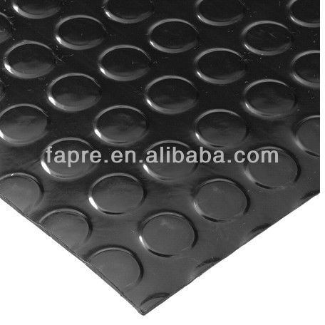 2013 Anti-slip Water-oil-Grease-proof Antistatic Coin Pattern Rubber Floor Mat