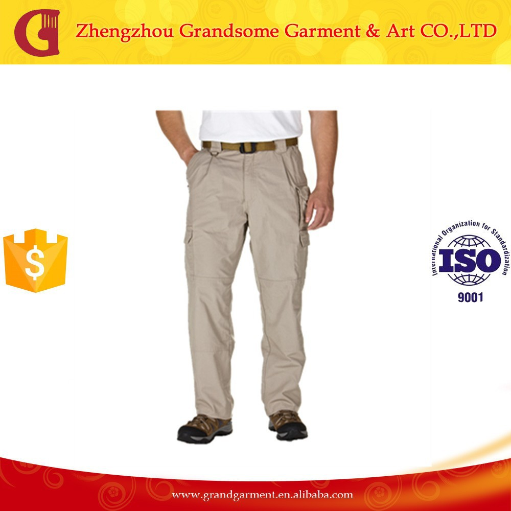 Multi Pocket Pants durable Cargo Trousers