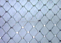 railway protecting balcony used Mag nets beautiful grid mesh fence