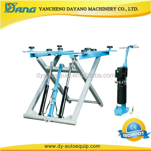 2.8 Ton Two Cylinder Portable Mid Rise Car Lift