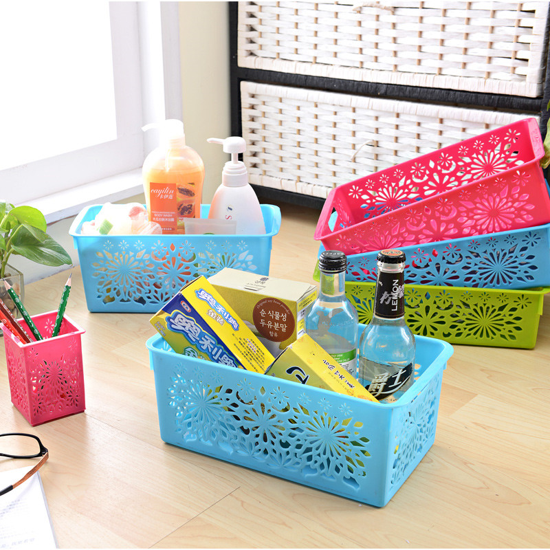 Eco-friendly kitchen use cheap PP storage basket