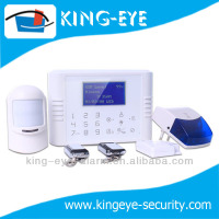 motion detetor with remote alarm ISO/ANDROID APP control gsm+pstn wireless intelligent security alarm system