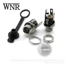 Hot sale WNRE SMD female 3 pin waterproof 5.5mm 2.1mm Power Jack socket dc connector