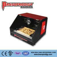 New Design wood, plastic, MDF, ABS hobbist portable mobile phone cnc carving machine