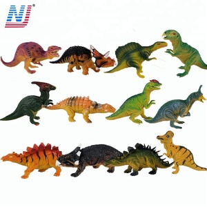 12 model 6 inch PVC dinosaur toys for kids from shantou factory