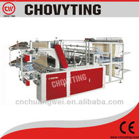 roll to roll bag making machine for garbage bag