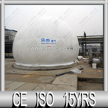 Double Membrane Methane Storage Tank for Collecting Gas