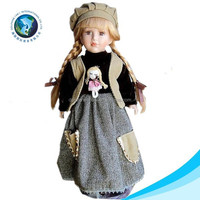 High quality various cute fashion indian porcelain doll