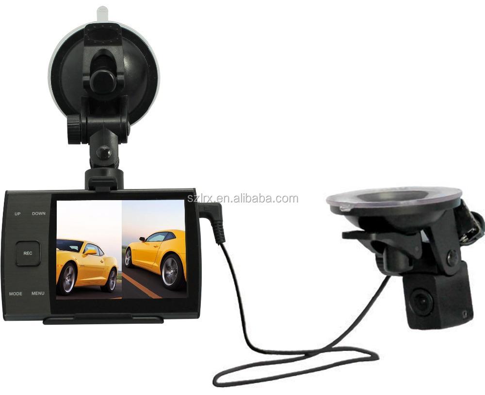 dual lens car camera dvr hd 1080p vehicle driver recorder 360 degree view dash cam 2 camera car. Black Bedroom Furniture Sets. Home Design Ideas