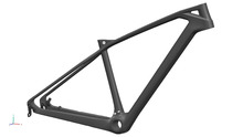 "14.5"" 16"" 17.5"" 19"" 27..5er Newest MTB bike carbon frame thru-axle 142X12 ,QR axle 135 X 9 both"