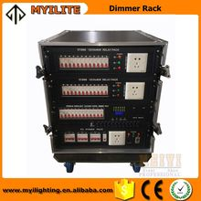 Hot selling led stage lighting control product 12CH 4kw digital dimmer pack