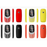 Latest 2.4inch Cheap Price Dual Sim Copy Cell Bar Phone 3310