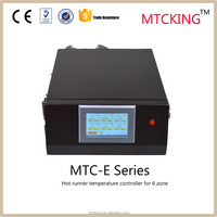 Touch hot runner Temperature Controller with MTC E 6 zone