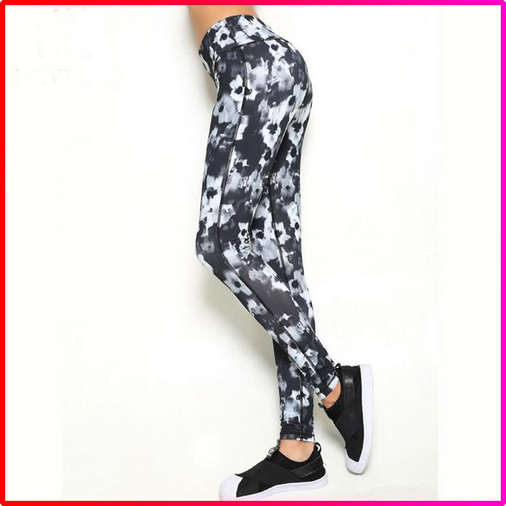 Factory Women Fitness Yoga Sports Printed Sexy Wholesale Leggings