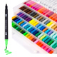100 Colors watercolor brush pen paint marker watercolor pen
